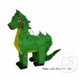 Pinata dragon vert 60x48x10cm