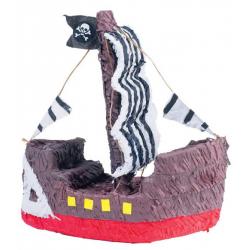 Pinata bâteau pirate 60x40x10cm