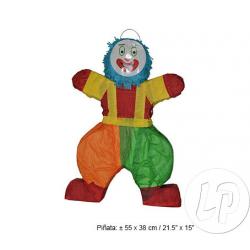 Pinata clown multicolore 55cm