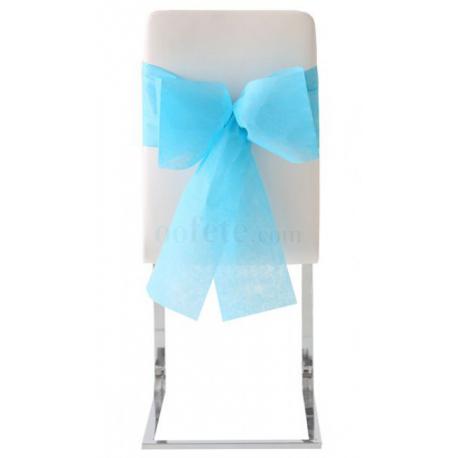 10x Noeud de chaise automatique turquoise