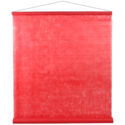 Tenture de salle Rouge 80cm x 12mètres