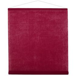 Tenture de salle Bordeaux 80cm x 12mètres
