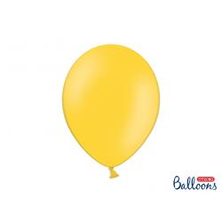 10x Ballon à gonfler jaune miel