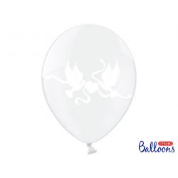 10 x ballon blanc cristal colombes