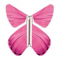 10 x papillon magique rose