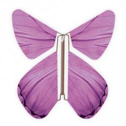 10 x papillon magique violet
