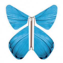 10 x papillon magique bleu
