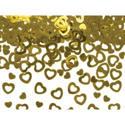 Confettis cœur doré