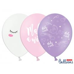 10x Ballon licorne