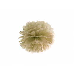Pompon papier or 25 cm