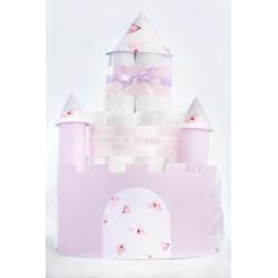 """Gâteau de couches """"Château de Princesse"""""""