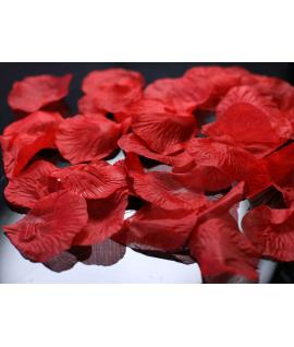 100 x Pétales de roses rouge
