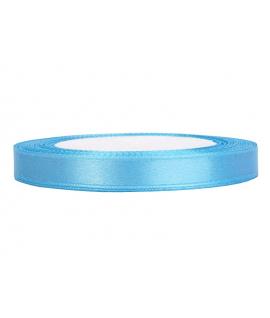 Ruban en satin bleu ciel (12 mm x 25 m)