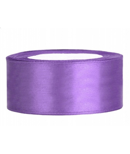 Ruban en satin lilas large (25 mm x 25 m)