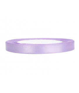 Ruban en satin lilas clair (12 mm x 25 m)