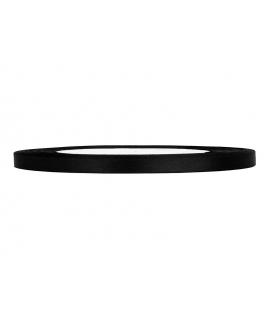 Ruban en satin noir fin (6 mm x 25 m)